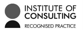Recognised Practice of The Institute of Consulting